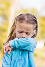 little girls with cough